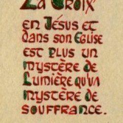 Laudem Gloriae – 8 / A la gloire de Dieu – I