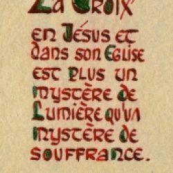 Laudem Gloriae – 42 / La transfiguration du Christ