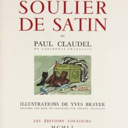 Chemins de traverse – 642 / Paul Claudel