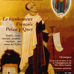 Hors-série – 15 / Francois Palau y Quer